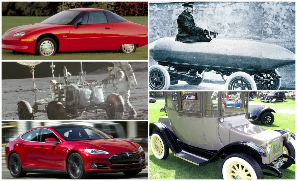 Starting of electric cars